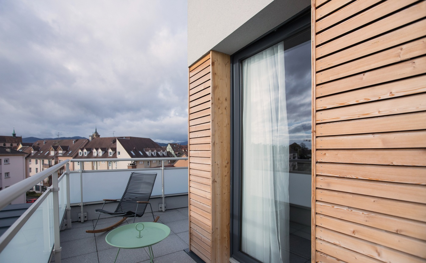 rooftop terrasse collar hotel chambre